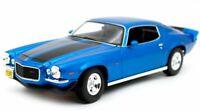 CHEVROLET Camaro - 1971 - bluemetallic - Maisto 1:18