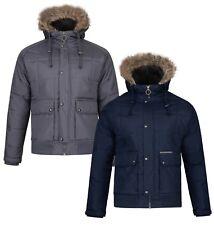 Ringspun Warm Winter Short Max Faux Fur Parka Jacket Hooded Padded Puffer Coat