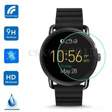 9H Tempered Glass Screen Protector Film Fit For Fossil Q Wander Smart Watch