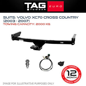 TAG Euro Towbar Fits Volvo Xc70 Cross Country 2003 - 2007 Towing Capacity 2000Kg