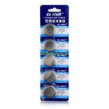 CR2450 DL2450 BR2450 LM2450 5029LC 3V Button Coin Cell Battery Bulk Lot 5 Pcs D