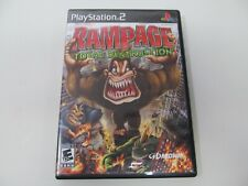 Sony Playstation PS2 Game Rampage Total Destruction COMPLETE