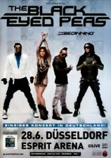 BLACK EYED PEAS - 2010 - Konzertplakat - The Beginning - Tourposter - Düsseldorf