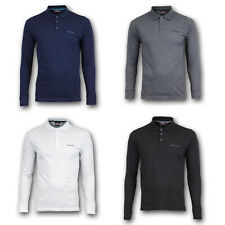 Pierre Cardin Polohemd Langarm Polo Shirt Poloshirt Hemd S M L XL 2XL 3XL 4XL