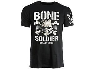 Official NJPW - New Japan Pro Wrestling - BC - BONE SOLDIER - Bullet Club - T-Sh