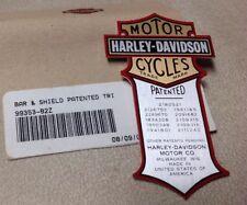 Harley Davidson Medallion, Bar & Shield Trim, Vintage Oil Tank 99353-82Z NOS