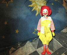 Vintage 1976 Remco Ronald McDonald Doll Action Figure Moveable Head Promotion