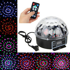 DMX512 6x LED RGB Bola Luz Iluminación Efecto Disco DJ Discoteca Laser Digital