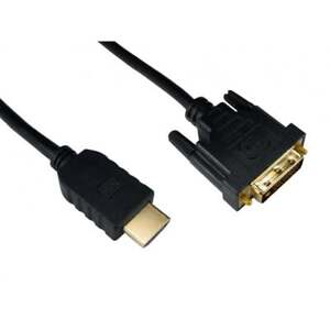 Alida Systems HDMI to DVI Cable - Pro Quality DVI-D (Dual Link) 24+1 Pins