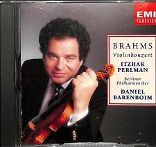 Brahms Vionlinkonzert Itzhak Perlman Daniel Barenboim - CD