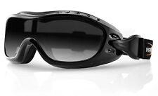 Bobster Night Hawk OTG goggle, Polycarbonate goggle, motorcycle goggle, Anti-Fog
