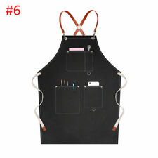 Chef Apron Pinafore Barber Waiter Workwear Aprons Painter Barista Uniforms Us