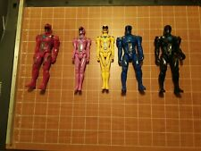 Power Rangers Action Figure Lot of 5