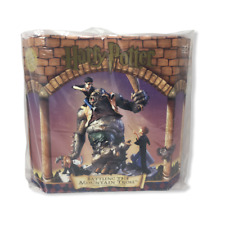 Harry Potter Battling the Mountain Troll Limited Edition New Hand-Painted Statue