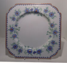 Aynsley Cornflower Pattern Cake Plate As Supplied to H M the Queen c1930