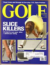 GOLF MAGAZINE JUNE 1991
