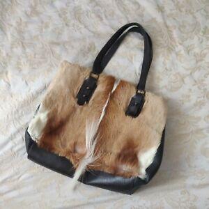 Safari Leather, Pony skin Bag