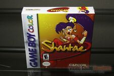 Shantae (Game Boy Color, 2002) FACTORY H-SEAM SEALED & GEM MINT! - GRAIL!