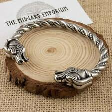 Viking Dragon Bracelet Stainless Steel Norse Arm Ring