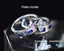 Excellent Cut Sterling Silver VS1 Fine Diamond Rings