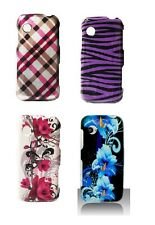 Hard Snap On Faceplate Cover Case for LG Prime GS390 Phone Accessory