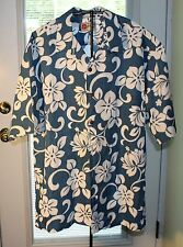 The Hawaiian Original Hilo Hattie Size XL Men's Top Made In Hawaii