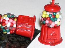 1pc  Little Dollhouse candy Bubble gum Ball Machine charm pendant for necklace *