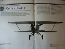FASCICULE AVION 16P BIPLANS MYTHIQUES WWI WWII CURTISS HAWK III / PILOTES CHINOI