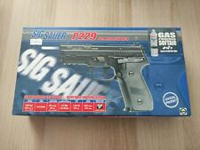 Rare - Réplique Airsoft Sig Sauer P229 GBB Full Métal avec Marquages Officiels