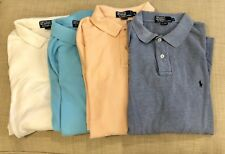 Lot of 4 RALPH LAUREN Mens XL Polo Short Sleeve Knit Cotton Rugby Shirts