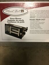 Wood Stove Blower With Variable Speed Operation Enable Adjust Heat Distribution