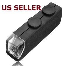 Mini Pocket Gadget LED 60X-100X Magnifier Microscope Jeweler Loupe
