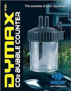*NEW* DYMAX C02 BUBBLE COUNTER AQUASCAPE FISH TANK AQUARIUM WATER SHRIMP PLANT