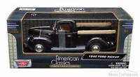 Motormax 1/24 , Ford Pickup 1940 - Black. Metal Model Car