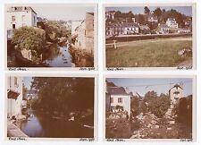 Lot 4 PHOTOS ANCIENNES COULEUR Pont Aven Finistère Bretagne 1966