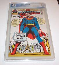 Superman #240 - Graded PGX NM- 9.2 - 1971 DC Classic Bronze Age (Neal Adams)