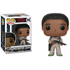 Stranger Things - Lucas Ghostbuster Pop! Vinyl Figure NEW Funko