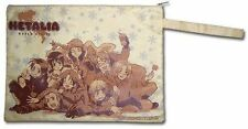 Hetalia World Series Zippered Paper Pouch Bag ~ Brand New