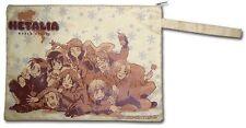 Hetalia World Series Zippered Paper Pouch Bag ~ Brand New