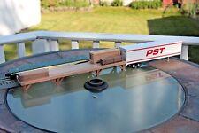 O gauge handmade cherry freight platform (USA) for LIONEL, MTH, Atlas, K Line