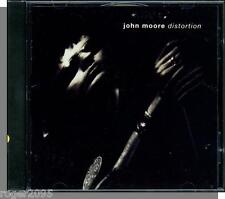 John Moore - Distortion - New 1991, 14 Song, Hard Rock CD!