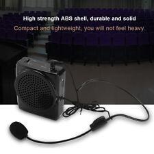 Portable Waistband Voice Amplifier Changer Booster Mini Loud Speaker Microphone