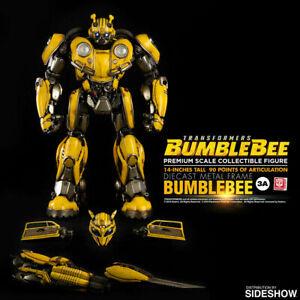 Transformers Bumblebee Threezero Premium Scale Figure Hasbro 3A Autobot Sideshow
