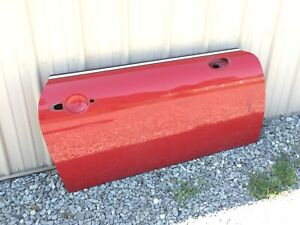 Mini Cooper 2000-06 • Front Right Door Shell, Red. Used. #41 51 7 202 912.