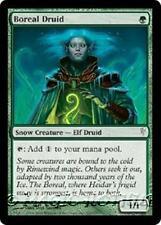 BOREAL DRUID Coldsnap MTG Green Snow Creature — Elf Druid Com