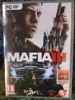 Mafia III 3 PC Nuevo precintado Gran Acción aventura totalmente en castellano