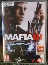MAFIA III 3 PC Nuevo precintado Gran Acción aventura totalmente en castellano.
