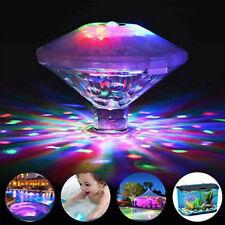 RGB LED Disco Light Floating Underwater Glow Show Swimming Pool Hot Tub Spa Lamp