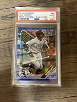 2019 Bowman Chrome Prospects LUIS ROBERT Blue Shimmer /150 Refractor RC PSA 9