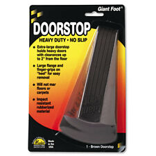 Master Caster Giant Foot Doorstop No-Slip Rubber Wedge 3-1/2w x 6-3/4d x 2h